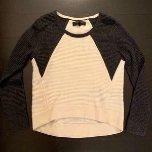 Rag & Bone color block Wool Sweater Crew